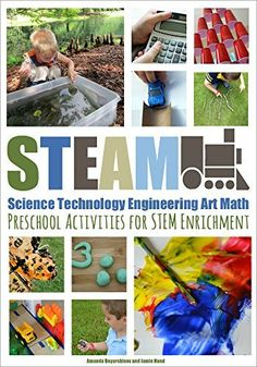 Amazon.com STEAM: Preschool Activities for STEM Enrichment by Jamie Hand and Amanda Boyarshinov Kindle Store STEAM ebook for Kids and Parents