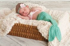 Baby Mermaid Crochet Outfit Pattern | Below are various baby and newborn outfits available for your baby's ...