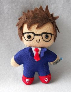 Pocket sized David Tennant Doctor Who. :-)