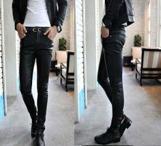 moda masculina 2014 leather - Buscar con Google