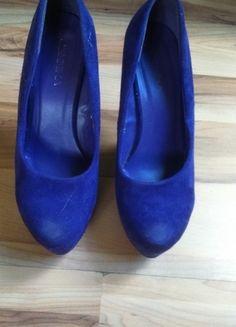 Kup mój przedmiot na #vintedpl http://www.vinted.pl/damskie-obuwie/na-wysokim-obcasie/10505398-fioletowe-butykopytka-koturn