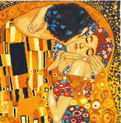 Gustav Klimt - The Kiss (detail Art Print. Explore our collection of Gustav Klimt fine art prints, giclees, posters and hand crafted canvas products Gustav Klimt, Klimt Art, Canvas Art Prints, Painting Prints, Oil Paintings, Abstract Paintings, Painted Leaves, Hand Painted, Most Expensive Painting
