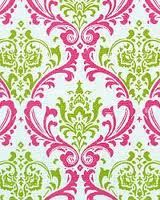 trad pattern with cool colors