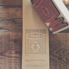 Youngblood Roasters - Hand Stamping Coffee Packaging | Kraft Packaging