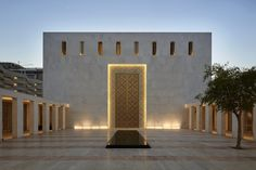 Jumaa Mosque and Sacred Heart Cathedral by John McAslan + Partners - architektur Sacred Architecture, Mosque Architecture, Religious Architecture, Architecture Details, Modern Architecture, Architecture Sketches, Architecture Wallpaper, Architecture Portfolio, Sacred Heart Cathedral