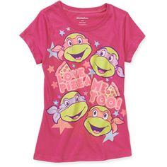 Teenage Mutant Ninja Turtles Girls' Graphic Tee