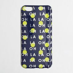 Factory phone case for iPhone® 6 - oh la la is right!