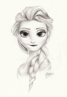 tumblr drawings disney frozen - Google Search