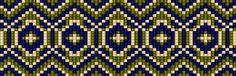 Схемы браслетов - станочное ткачество 8 + схема гердана   - Схемы для бисероплетения / Free bead patterns -