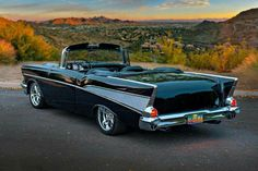 The best vintage cars hot rods and kustoms 1957 Chevy Bel Air, Chevrolet Bel Air, Chevrolet Camaro, Chevelle Ss, Chevy Classic, Classic Mustang, Convertible, American Classic Cars, Classy Cars