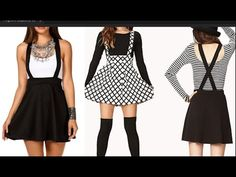DIY Overall Skater Dress { Easy ESewing} - YouTube