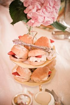 British: Scones A Quintessentially British (slightly) Royal Tea Party Tea Party Birthday, 8th Birthday, Birthday Ideas, Royal Tea Parties, High Tea Food, Bridal Shower Tea, Bridal Showers, Tea Party Table, Tea And Books