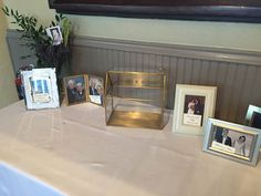 Share family memories at the gift tables! Photo taken by: River Roast