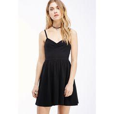 Skater Black Dress