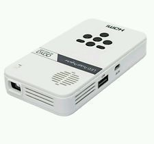 LED Pico Projector Dlp 80 Minute Battery Life Pocket Size Mini HDMI Rechargable