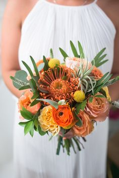 Numerous bride-to-bes may understand the wedding flower they want in their own bouquet, however are a little mystified about the rest of the wedding flowers required to fill out the ceremony and reception. Wedding Flower Guide, Fall Wedding Flowers, Flower Bouquet Wedding, Bridesmaid Bouquet, Floral Wedding, Wedding Colors, Fern Bouquet, Bridesmaids, Flower Bouquets