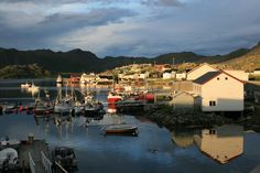 Gjesvaer harbour from Barents cabin