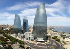 Baku Flame Towers,© Farid Khayrulin