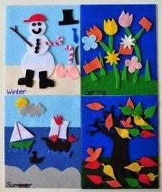 seasons tree artand craft ideas for preschool (7)