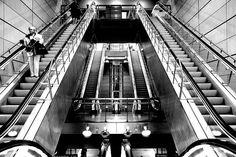 Metro Copenhagen, Denmark, Stairs, Architecture, Black, Home Decor, Arquitetura, Stairway, Decoration Home