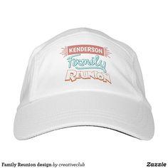 Family Reunion design #familyreunion #baseballcap