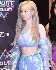 Twice-Dahyun 190926 Mcount down Nayeon, Kpop Girl Groups, Korean Girl Groups, Kpop Girls, Stage Outfits, Kpop Outfits, Twice Once, Twice Dahyun, Twice Kpop