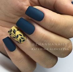 Hottest Fall Matte Nail Art Designs Ideas - Nail Art Connect Autumn will come,need to change the summer nail ideas. There are new nail ideas in every season, but matte nails always Fall Nail Art Designs, Acrylic Nail Designs, Stylish Nails, Trendy Nails, Pink Nails, Gel Nails, Color Nails, Gradient Nails, Nude Nails