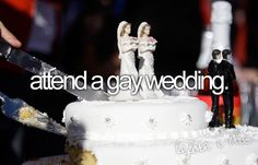 One of my gays need to get married.