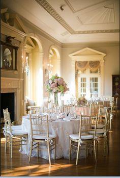 Our Lovett Ballroom Reception At The Henry Ford Weddingreception Receptiontables Receptiondecor Lovetthall