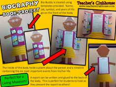 Biography Report Form Template and Organizer