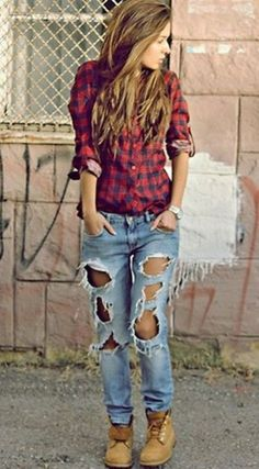 Ideas how to wear timberland boots for girl 39