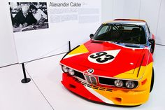 BMW art car by Alexander Calder, 1975