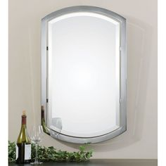 Uttermost Jacklyn Arched Metal Mirror - 23W x 37H in. - 01128