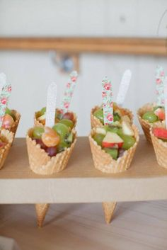 Easy Tart Recipes, Fruit Recipes, Easy Desserts, Birthday Treats, Party Treats, 2nd Birthday, Snack To Go, Little Presents, Party Catering