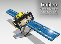 Proposed Lego model of Galileo satellite designed by Galileo engineers! 1103 supporters reached 10.000 needed for LEGO to consider it.