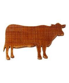 This Cow Cutting Board is perfect! #zulilyfinds