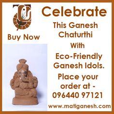 Make this #Ganeshachaturthi #Ecofriendly with Mati #Ganesh. Book your #Idol today at http://matiganesh.com/collections/all  #ganesha #lordganesh #jaiganesh #ecofriendly #ecofriendlyganesha