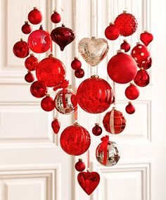 Valentines idea- cool decorative idea for other holidays too.