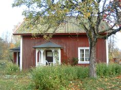 Bosjön Cabin, House Styles, Red, Home Decor, Sweden, Decoration Home, Room Decor, Cabins, Cottage