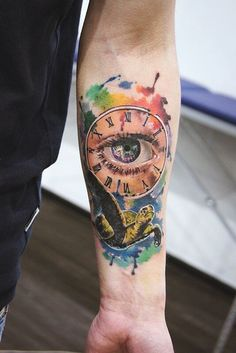 Смотрите Тату черепаха на руке и другие работы в галереях салона Tattoo Times Watercolor Eyes, Watercolor Tattoo, Realism Tattoo, Gorgeous Body, Arm Tattoos, Body Art, Arms, Ink, Realist Tattoos