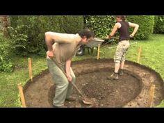 Construire bassin de jardin avec liner