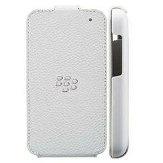 Blackberry Q5 Leather Flip Shell Case - White Blackberry, Shells, Phone Cases, Leather, Conch Shells, Seashells, Blackberries, Sea Shells, Rich Brunette