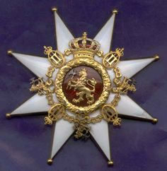 The order was founded by King Oscar II of Sweden and Norway on 21st January 1904. After the Union of the two countries seized to exist in June 1905, it was no longer awarded.