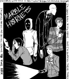 "What a cool ""Marble Hornets"" picture!  Makes  me want to go watch it again!"