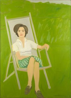 Ada Seated, 1963, Alex Katz