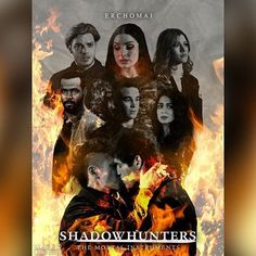 Shadowhunters poster ➰ I've been waiting for this story to happen for such a long time, and seeing that final moment on the show was so amazing. Alec Lightwood, Isabelle Lightwood, Jace Wayland, Shadowhunters Poster, Clary Fray, Shadowhunters The Mortal Instruments, Clace, The Dark Artifices, City Of Bones