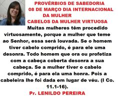 CABELO DA MULHER VIRTUOSA