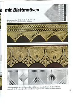 Wonderful collection of free knitting stitch charts.