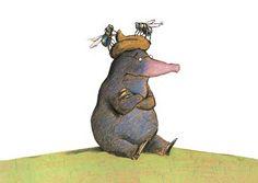 Joyeux anniversaire, petite taupe ! - BREADCRUMB.FR Max Ernst, La Petite Taupe, Wolf, Art For Kids, Dinosaur Stuffed Animal, Ps, Albums, Children, De Chirico