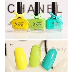 Love these colors @BornPrettyStore, Candy Color Polish Fluorescent Nail Art Polis... at USD $4.32. http://www.bornprettystore.com/-p-9736.html